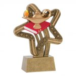 Stars and Stripes Resin Awards -Lamp of Knowledge Scholastic Trophy Awards