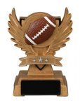 Victory Wing Resin Figure -Football Scholastic Trophy Awards